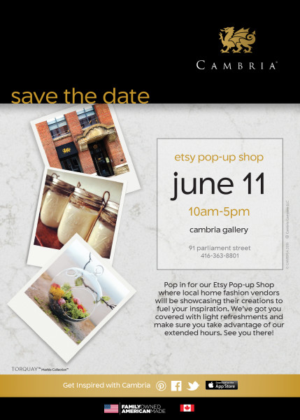 Etsy at Cambria June 11