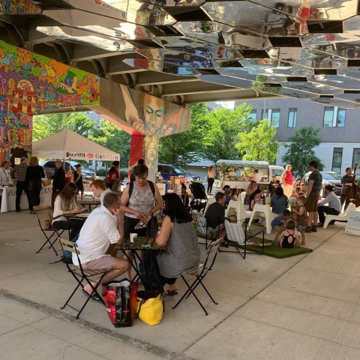 The Corktown Underpass Farmers Market runs Thursdays from 3-7pm, May-October.