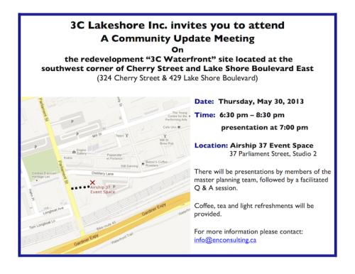 3C Lakeshore-May 30-Community Update-Notice