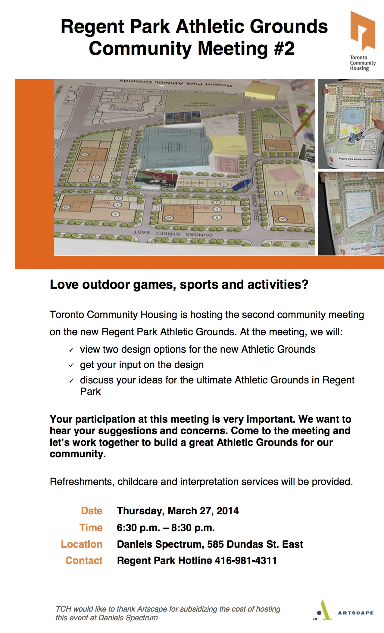 FINAL Athletic Ground flyer - March 27 - Community Meeting #2 (2)-1