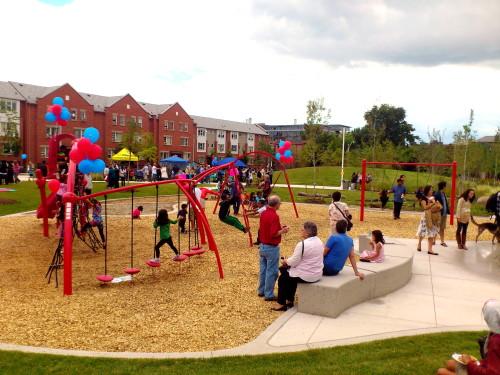 playground at Joel Weeks