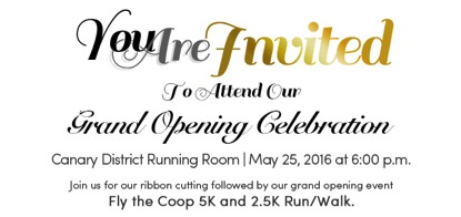 running room grand opening
