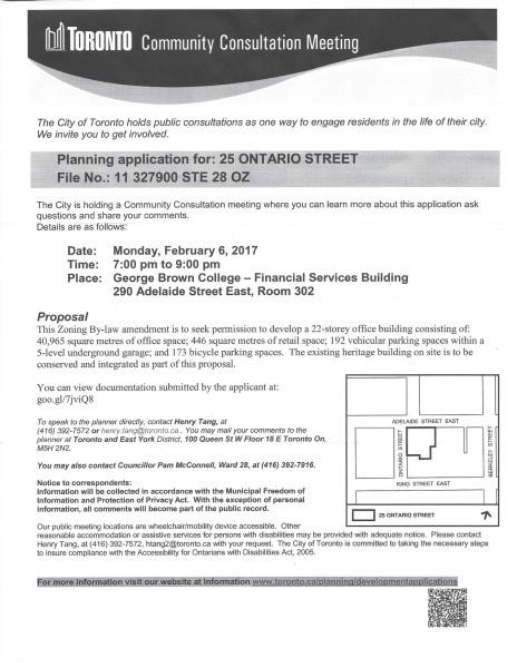 25 Ontario Community Consultation